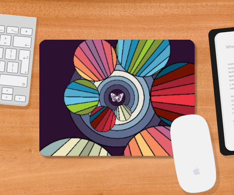 Mousepad, Butterfly Mousepad | Arttist: Vaibhav Dangwal, - PosterGully
