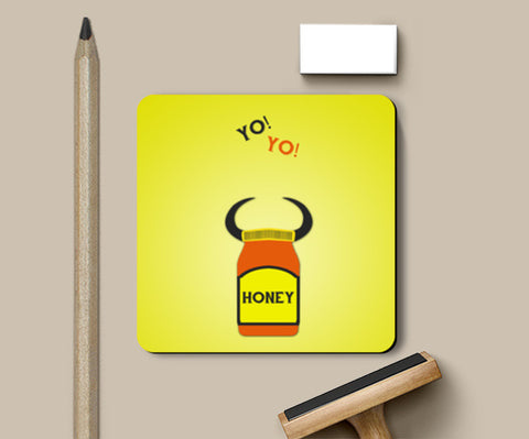 Coasters, Yo Yo Honey Singh Coasters | Artist : Sourab Biswas, - PosterGully