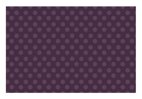 PosterGully Specials, Purple Dots Wall Art  | Artist : Amantrika Saraogi, - PosterGully