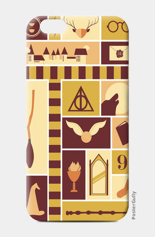 iPhone 6/6S Cases, Harry Potter iPhone 6/6S Cases | Artist : Arpita Gogoi, - PosterGully
