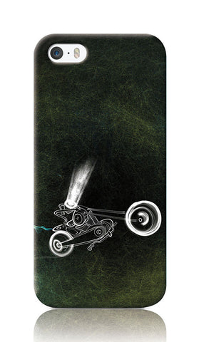 iPhone Cases, Bike Immaculateflad iPhone 5/5S Case | Artist: Devraj Baruah, - PosterGully