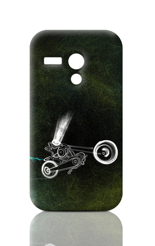 Moto G Cases, Bike Immaculateflad Moto G Case | Artist: Devraj Baruah, - PosterGully