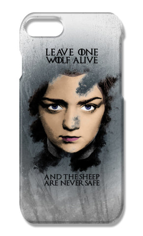 Game of Thrones | Arya Stark | iPhone 7 Plus Cases | Artist : Vivid Corner
