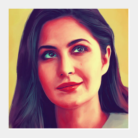 Katrina Kaif Square Art Prints | Artist : Delusion