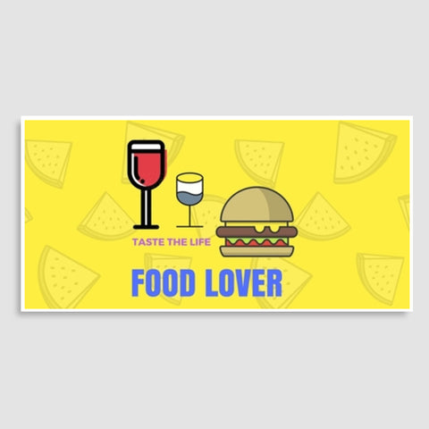 Food Lover Door Poster | Artist : Pallavi Rawal