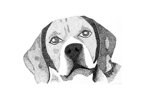 Beagle Puppy Art PosterGully Specials