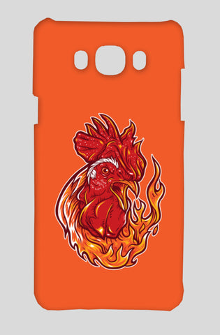 Rooster On Fire Samsung On8 Cases | Artist : Inderpreet Singh