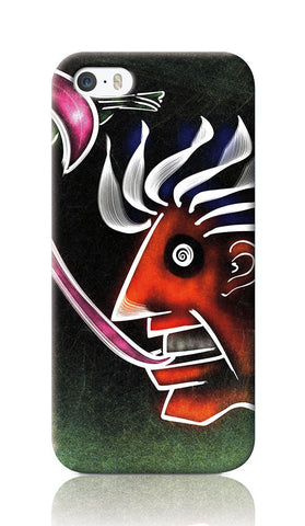 iPhone Cases, Chameleon Man iPhone 5/5S Case | Artist: Devraj Baruah, - PosterGully