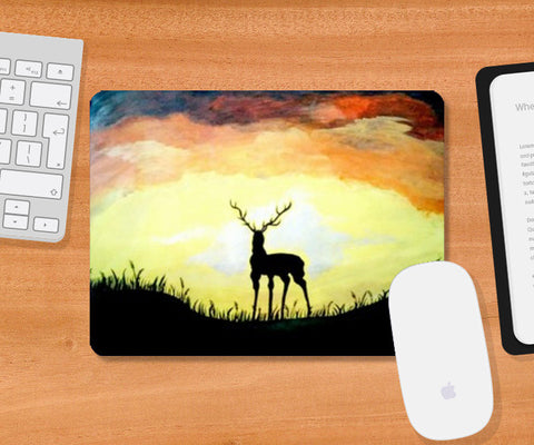Stand alone even if it gets Dark Mousepad | Artist : Pallavi Rawal
