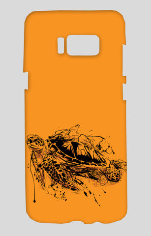 Turtle Samsung Galaxy S8 Cases | Artist : Inderpreet Singh