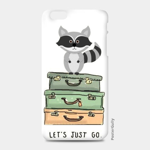 iPhone 6/6S Plus Cases, LET'S JUST GO! iPhone 6 Plus/6S Plus Cases | Artist : DISHA BHANOT, - PosterGully