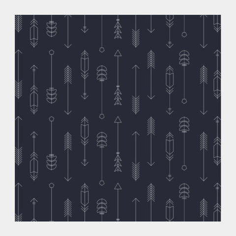 Arrow Pattern Square Art Prints PosterGully Specials