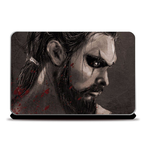 Laptop Skins, Khal Drogo Game Of Thrones Laptop Skin  | Artist: Parikshit Deshmukh, - PosterGully