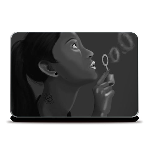 Bubble Rings Laptop Skins | Artist : Safal Adam