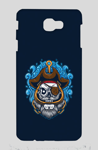Skull Cartoon Pirate Samsung J7 Prime Cases | Artist : Inderpreet Singh