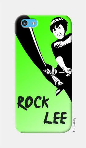 iPhone 5c Cases, Rock Lee iPhone 5c Case | Artist: Mahesh Rambhatla, - PosterGully