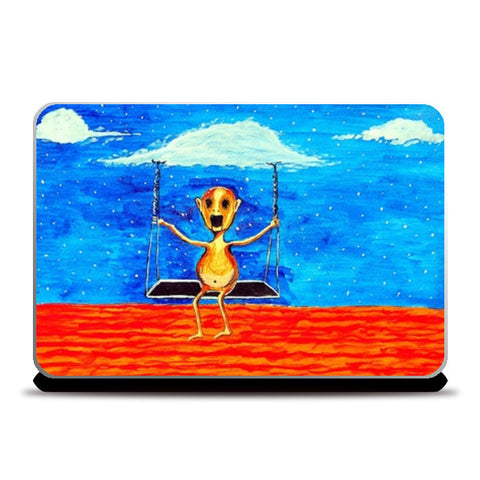Laptop Skins, On Cloud9 Laptop Skins | Artist : Ramkumar Iyer, - PosterGully