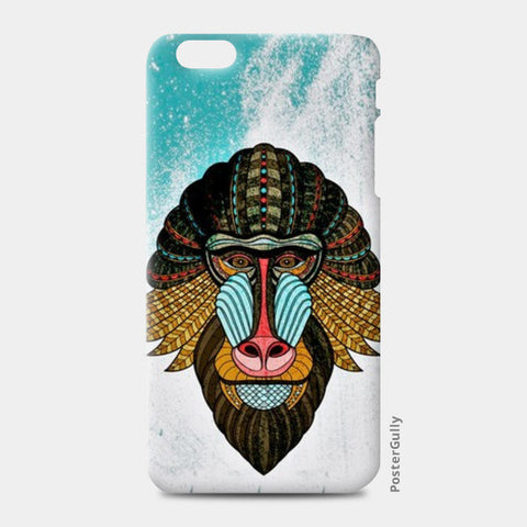 iPhone 6 Plus / 6s Plus Cases, baboon case iPhone 6 Plus / 6s Plus Cases | Artist : kamal kaur, - PosterGully