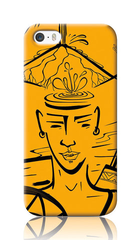 iPhone Cases, Leaving Village iPhone 5/5S Case | Artist: Devraj Baruah, - PosterGully