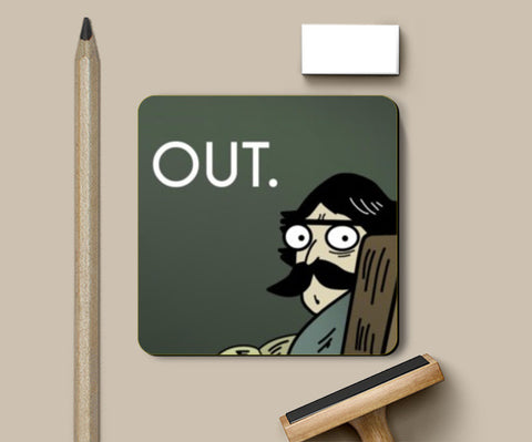 Coasters, Funny get out Coasters | Artist : Akshit Banta, - PosterGully