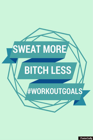 Brand New Designs, Workout Goals Artwork | Artist: Smriti Sundar, - PosterGully