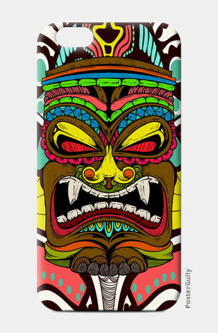 Tiki Monster iPhone 6/6S Cases | Artist : Pulkit Taneja