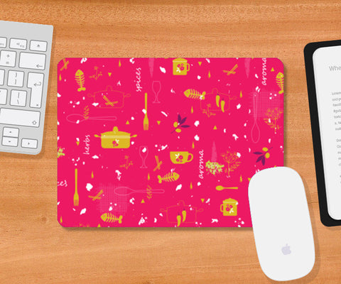 Mousepad, Kitchen Crazy Mousepad | Artist : Neelam Kaur, - PosterGully