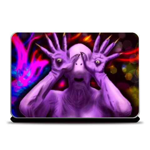 Laptop Skins, Pale Man Laptop Skin | Loco Lobo, - PosterGully