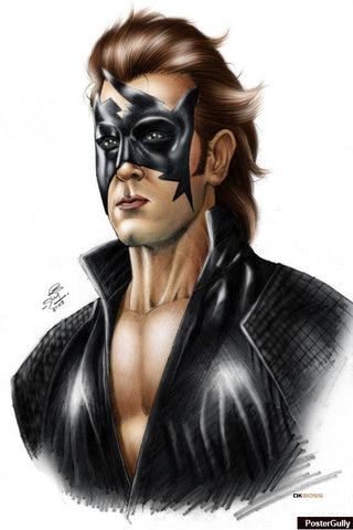 Wall Art, Krrish Artwork | Artist: DK Boss, - PosterGully - 1
