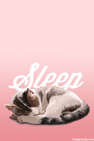 Brand New Designs, Sleep Artwork | Artist: Arushee Agrawal, - PosterGully - 1