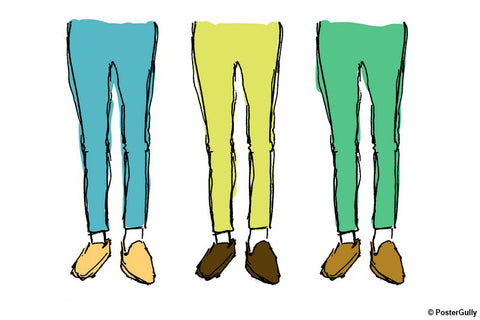 Brand New Designs, Chino Pants Fashion Artwork, - PosterGully - 1