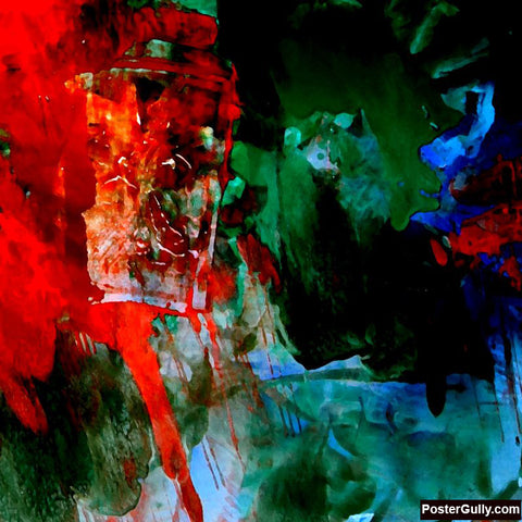 Brand New Designs, Abstract Painting #2 Artwork | Artist: Prakash Raman, - PosterGully