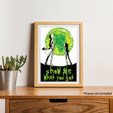 Rick & Morty Posters Combo @ 50% Off Limited Time Only