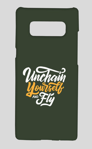 Unchain Yourself And Fly Samsung Galaxy Note 8 Cases | Artist : Inderpreet Singh
