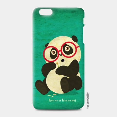 iPhone 6/6S Plus Cases, panda love me or not iPhone 6 Plus/6S Plus Cases | Artist : abhijeet sinha, - PosterGully