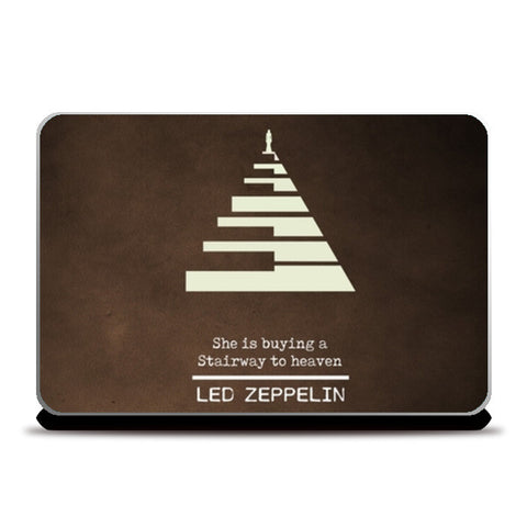 Stairway to heaven Led Zeppelin Classic rock music Laptop Skins | Artist : Gauri Deshpande