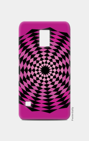 Samsung S5 Cases, ILLUSION-PINK Samsung S5 Cases | Artist : Sonia Punyani, - PosterGully