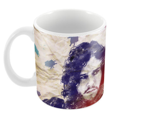 Game Of Thrones - Jon Snow - GoT Coffee Mugs | Artist : Shreya Agarwal