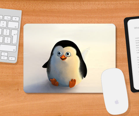 Mousepad, Baby Penguin Mousepad | Artist : Hriddhi Dey, - PosterGully
