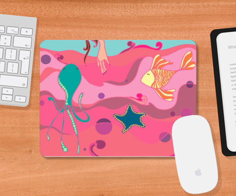 Mousepad, Under the Sea Mousepad | Artist: Annushka Hardikar, - PosterGully