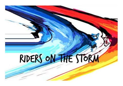 Doors - Riders on the Storm Wall Art  | Artist : Rockpire Designs