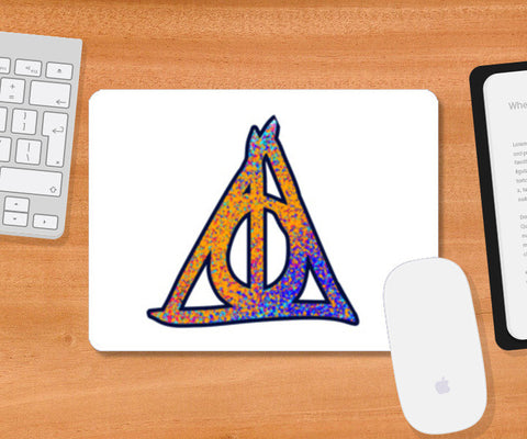 Mousepad, Deathly Hallows Harry Potter Mousepad | Artist : Dev Ballal, - PosterGully