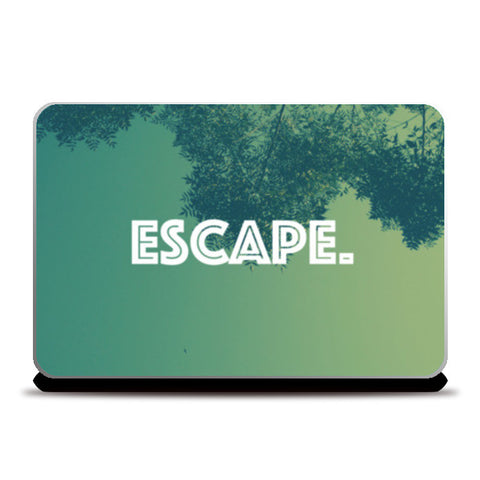 Escape Laptop Skins | Artist : Raghav Puri