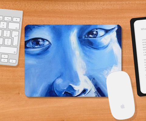 Mousepad, Inquisitive - Painting Mousepad | Artist : Smeet Gusani, - PosterGully