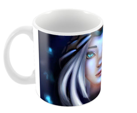 Ashe from league of legends Coffee Mugs | Artist : Scribbles