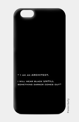 iPhone 6 / 6s Cases, ARCHITECT-BLACK iPhone 6 / 6s Cases | Artist : Sonia Punyani, - PosterGully