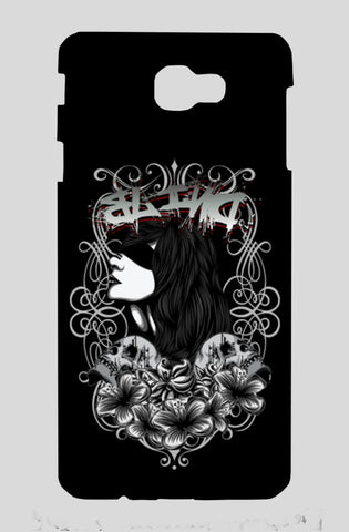 Women With Tattoo Flower Samsung J7 Prime Cases | Artist : Inderpreet Singh