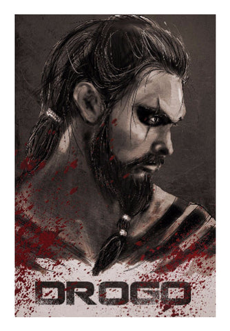 Wall Art, Khal Drogo Game Of Thrones  | Artist: Parikshit Deshmukh, - PosterGully