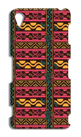 Abstract geometric pattern african style Sony Xperia Z3 Cases | Artist : Designerchennai