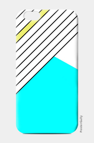 Pastel Geometry iPhone 6/6S Cases | Artist : Vaishak Seraphim